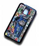 Koolart STICKERBOMB STYLE Design For Retro Ford Sierra Saphire Cosworth Hard Case Cover Fits Samsung Galaxy S5